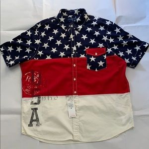 Polo Ralph Lauren Classic Fit Cotton Shirt New